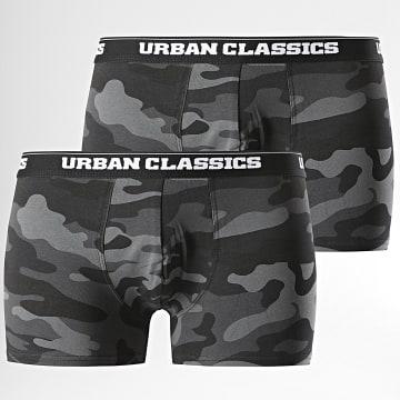 Urban Classics - Lot De 2 Boxers TB2047 Noir