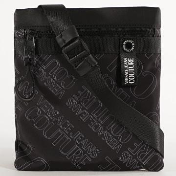 Versace Jeans Couture - Sacoche Linea Logo All Over E1YZBB51 Noir