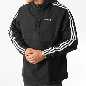 Adidas Originals - Coupe-Vent A Bandes GD2061 Noir