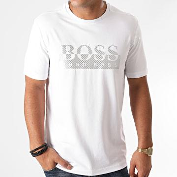 BOSS - Tee Shirt Tee 4 50435888 Blanc Argenté