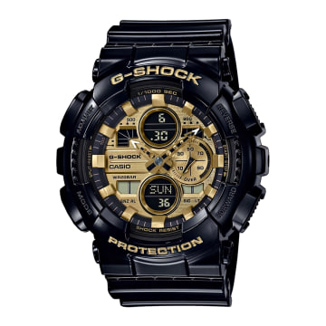 Casio - Montre G-Shock GA-140GB-1A1ER Noir Doré