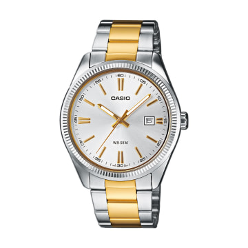 Casio - Montre Femme Collection MTP-1302PSG-7AVEF Acier Or