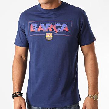 FC Barcelona - Tee Shirt B20001C Bleu Marine