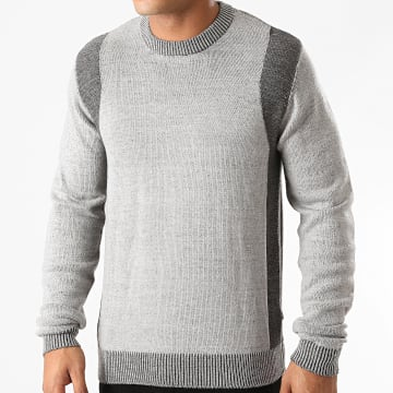 Solid - Pull Mason 21104507 Gris Chiné