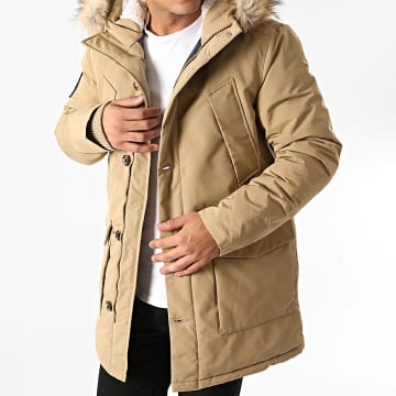 Superdry - Parka Fourrure Everest M5010204A Beige