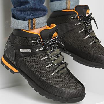Timberland - Boots Euro Sprint Waterproof Mid Hiker A2E15 Dark Green Knit