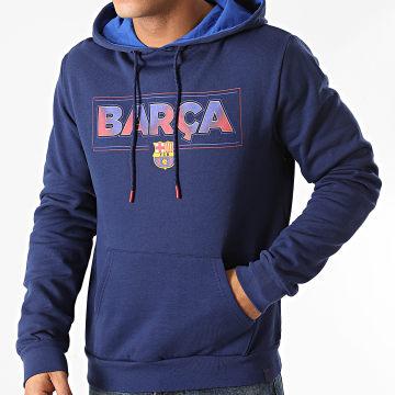 FC Barcelona - Sweat Capuche B20011 Bleu Marine