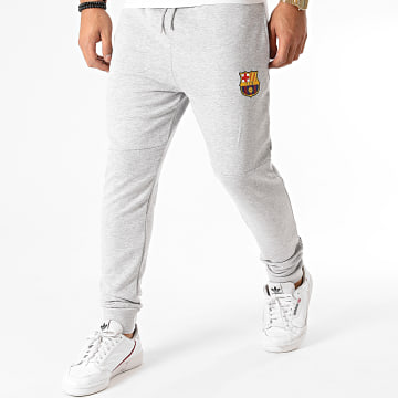 FC Barcelona - Pantalon Jogging B20013 Gris Chiné