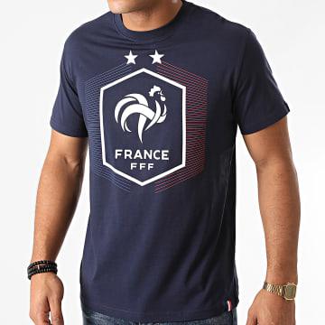 FFF - Tee Shirt F20005C Bleu Marine