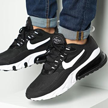 Nike - Baskets Air Max 270 React AO4791 Black White Black