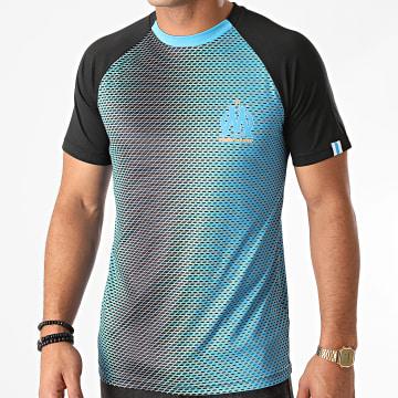 OM - Tee Shirt M20007C Bleu Noir