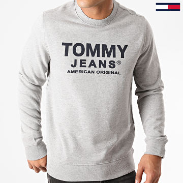 Tommy Jeans - Sweat Crewneck Essential Graphic 8405 Gris Chiné