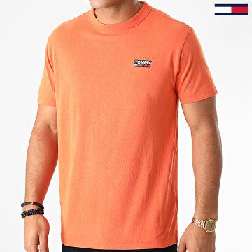 Tommy Jeans - Tee Shirt Washed Logo 8450 Orange