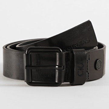 Calvin Klein - Ceinture Adjustable Leather 4166 Noir