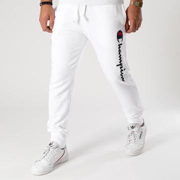 Champion - Pantalon Jogging 214723 Blanc
