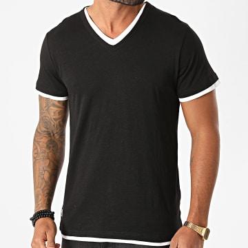 Deeluxe - Tee Shirt Col V Legend Noir