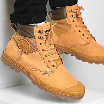 Palladium - Boots Pampa Shield WP Lux 76843 Amber Gold