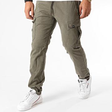 Reell Jeans - Pantalon Cargo Reflex Easy Vert Olive