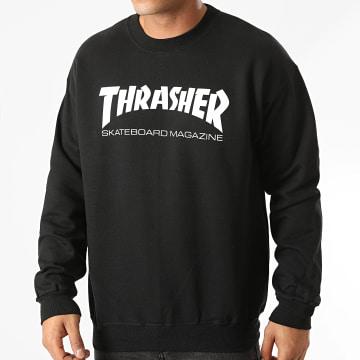 Thrasher - Sweat Crewneck Skate Mag 112103 Noir