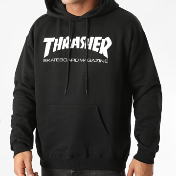 Thrasher - Sweat Capuche Skate Mag 113103 Noir