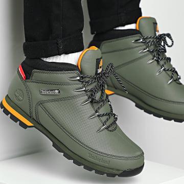 Timberland - Boots Euro Sprint Mid Hiker A2DYV Dark Green Helcor