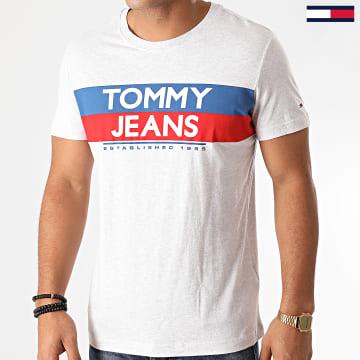 Tommy Jeans - Tee Shirt Contrast Color 9483 Gris Chiné