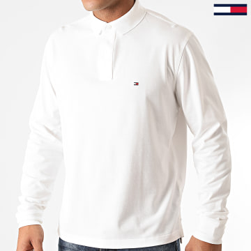 Tommy Hilfiger - Polo Manches Longues Regular 5473 Blanc