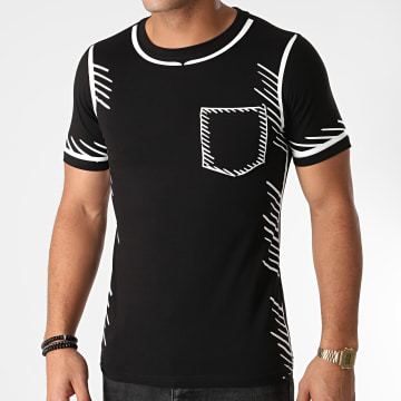Berry Denim - Tee Shirt Poche XP053 Noir