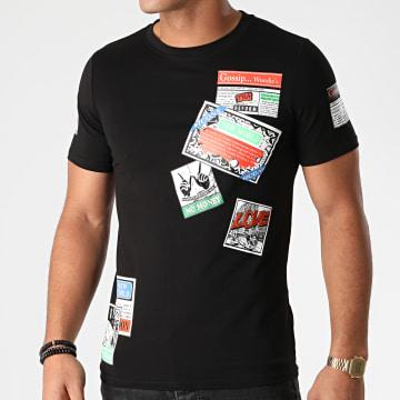 Berry Denim - Tee Shirt XP051 Noir
