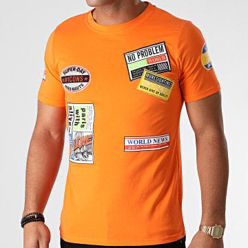 Berry Denim - Tee Shirt XP052 Orange