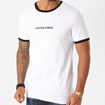 Jack And Jones - Tee Shirt Ring Blanc