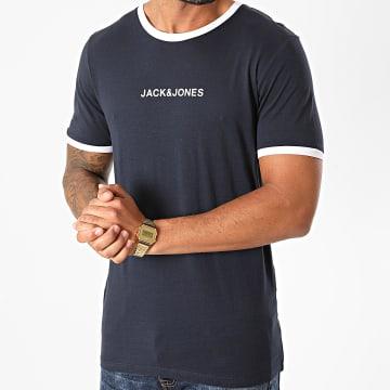 Jack And Jones - Tee Shirt Ring Bleu Marine