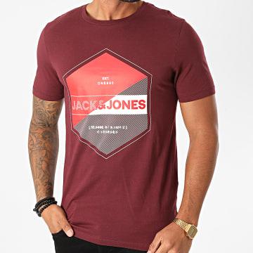 Jack And Jones - Tee Shirt Lambo Bordeaux