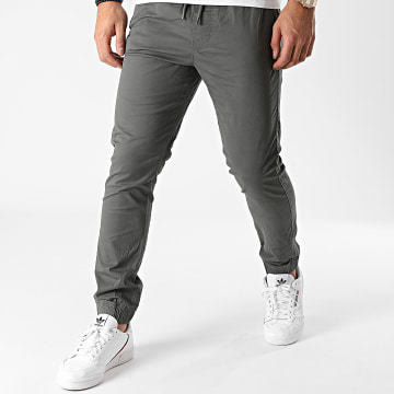 Solid - Jogger Pant 21103814 Gris Anthracite