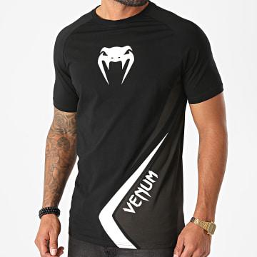 Venum - Tee Shirt Contender 4 Noir Blanc