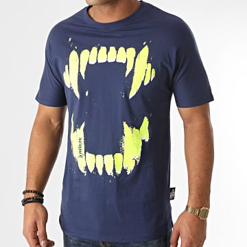 La Piraterie - Tee Shirt Crocs Bleu Marine