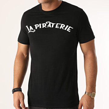 La Piraterie - Tee Shirt Building Chest Noir