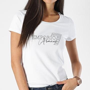 Emporio Armani - Tee Shirt Femme 6HTT21 Blanc