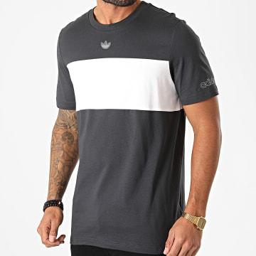 Adidas Originals - Tee Shirt Panel Trefoil GD5787 Bleu Marine Blanc