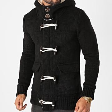 Armita - Veste Zippée Capuche ALB-324 Noir