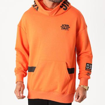 KZR - Sweat Capuche B041 Orange