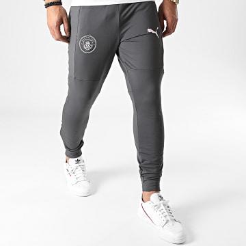 Puma - Pantalon Jogging Manchester City FC 757880 Gris Anthracite