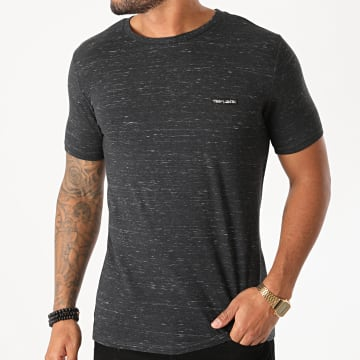 Teddy Smith - Tee Shirt Nark Gris Anthracite Chiné
