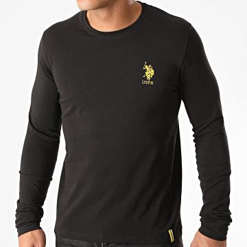 US Polo ASSN - Tee Shirt Manches Longues Reflective Noir
