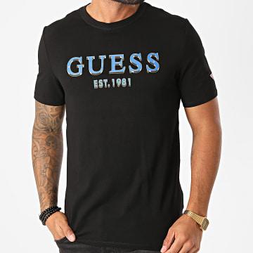 Guess - Tee Shirt M0BI59-J1300 Noir