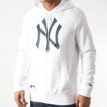 New Era - Sweat Capuche New York Yankees Infill Logo 12553373 Blanc