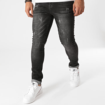 Terance Kole - Jean Skinny 72306 Gris Anthracite