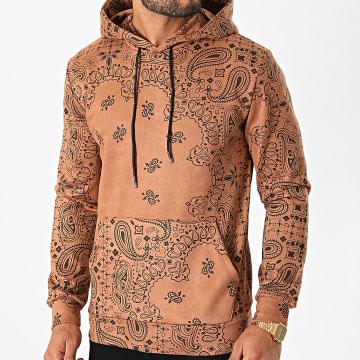 Uniplay - Sweat Capuche 8141 Camel Bandana