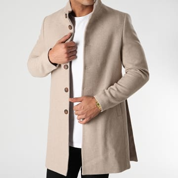 Classic Series - Manteau Trench 6088 Beige Chiné