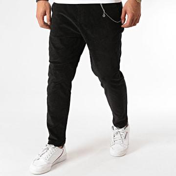 Classic Series - Pantalon Velours A19Y2316 Noir
